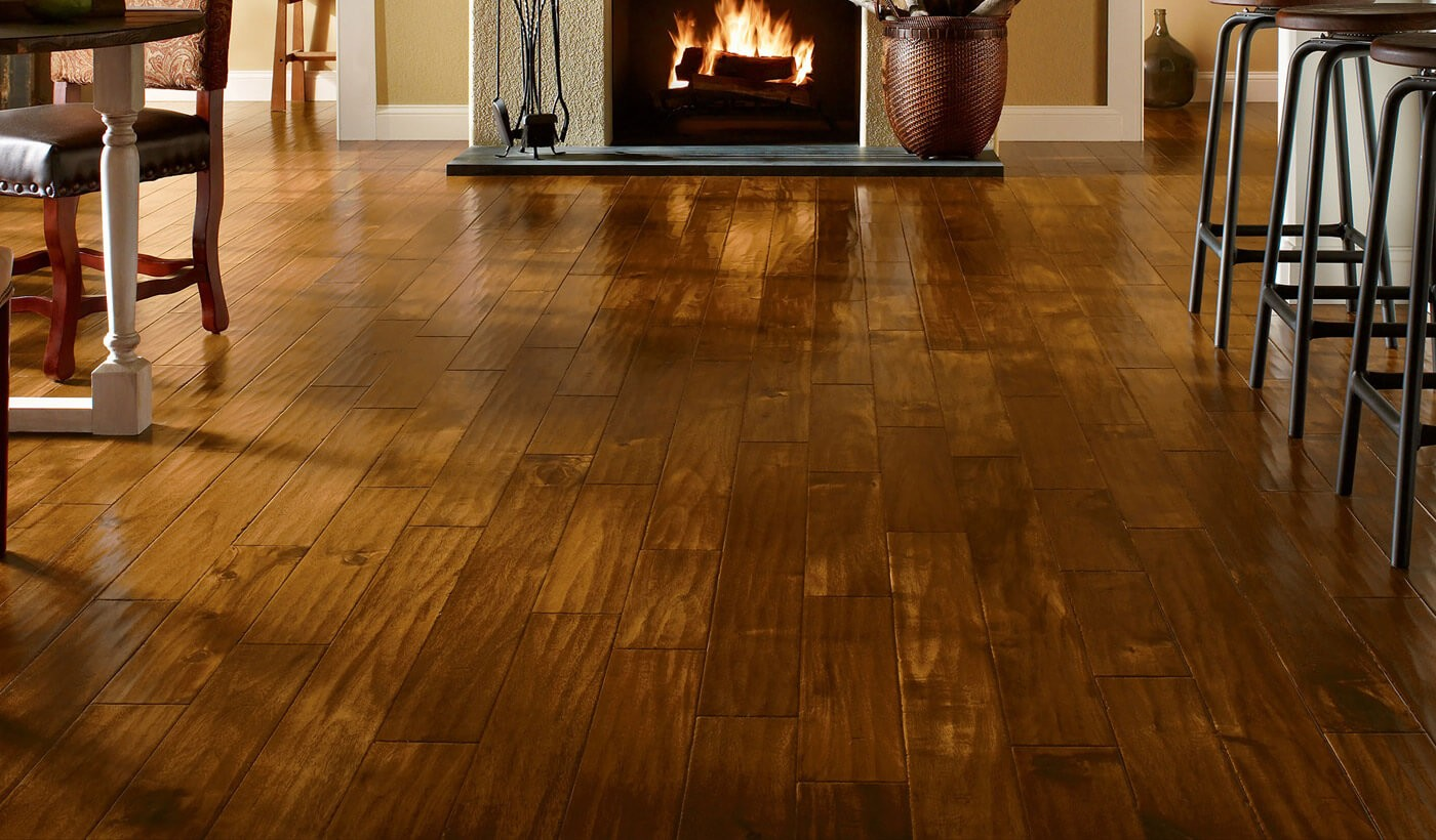 Hardwood and laminate floors